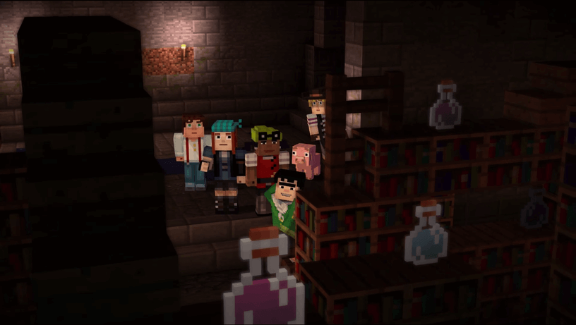 Minecraft: Story Mode_pic1