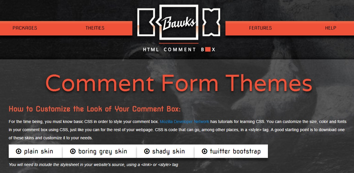 hcb_comment_form_custom
