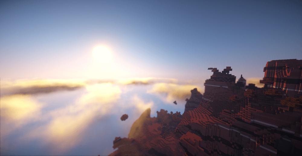 マイクラ】影MODで雲を立体化(3D化)する方法(Volumetric Clouds