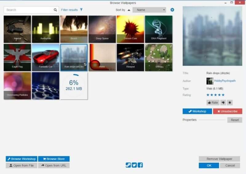 背景画像が動いてる Pcの背景に 動く壁紙 を設定できるソフト