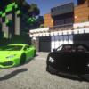 【マイクラ】リアルなスポーツカーで駆け抜ける!高級車を多数追加する『Alcara Pack』(Flan's Mod)
