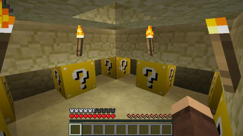 マイクララッキーブロック入手方法